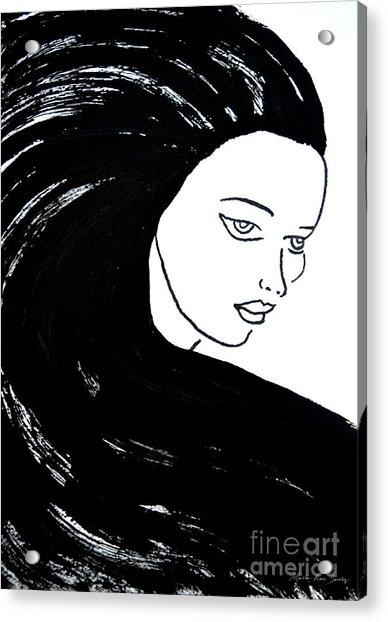 Majestic Lady J0715a Acrylic Print