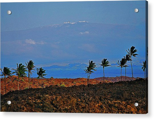Majestic Mauna Kea Acrylic Print