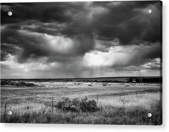 Malheur Storms Clouds Acrylic Print