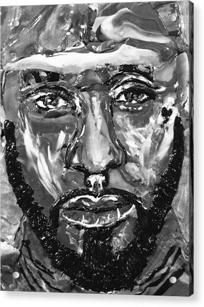 Man Of Steel Acrylic Print