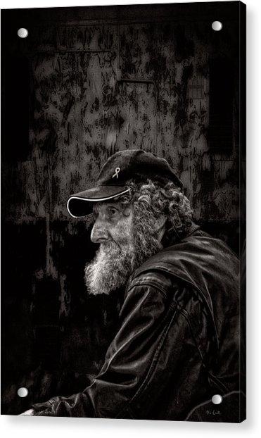 Man With A Beard Acrylic Print