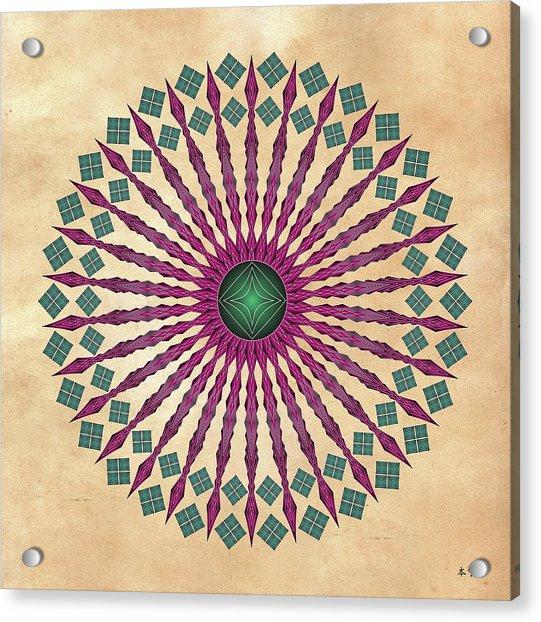 Mandala No. 13 Acrylic Print