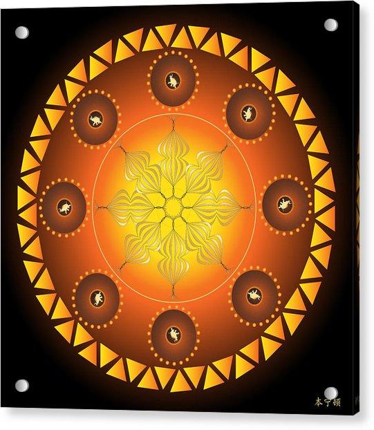 Mandala No. 60 Acrylic Print