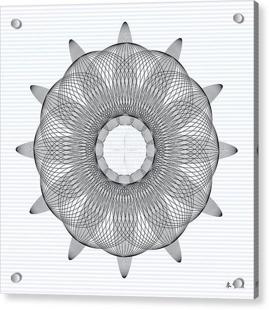 Mandala No. 78 Acrylic Print