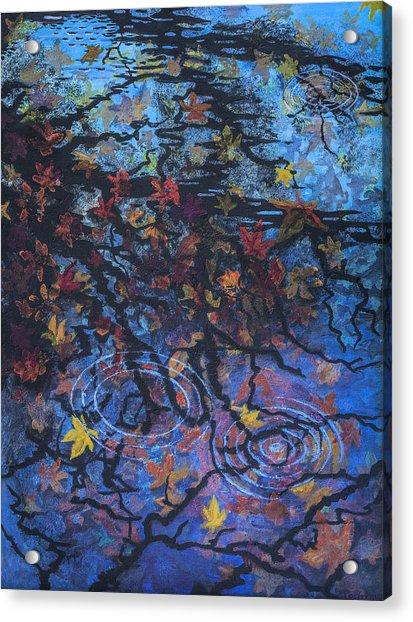 Maple Sky Acrylic Print