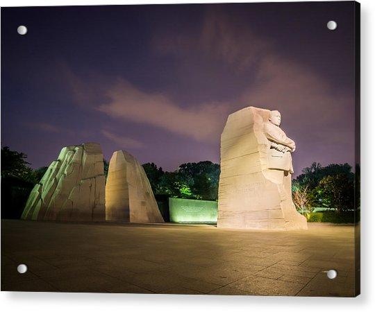 Martin Luther King Jr. Memorial Acrylic Print