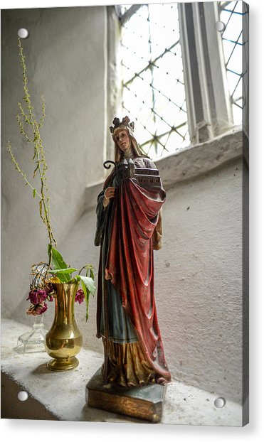 Our Blessed Lady At St Margaret Of Antioch Acrylic Print