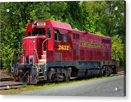 Maryland And Delaware Engine 2632 Acrylic Print