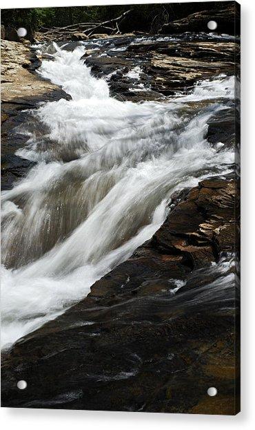 Meadow Run Water Slide 2 Acrylic Print