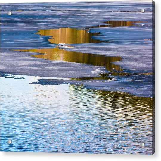 Meandering Towards Spring Acrylic Print