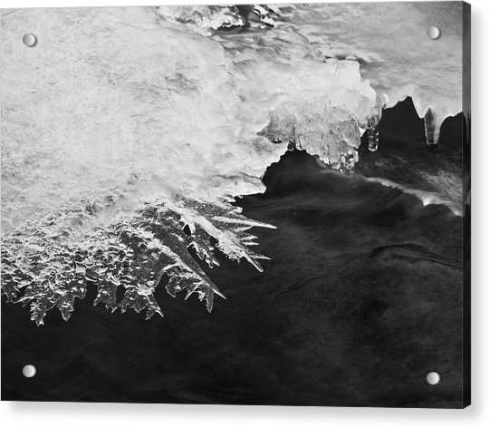 Melting Creek Acrylic Print