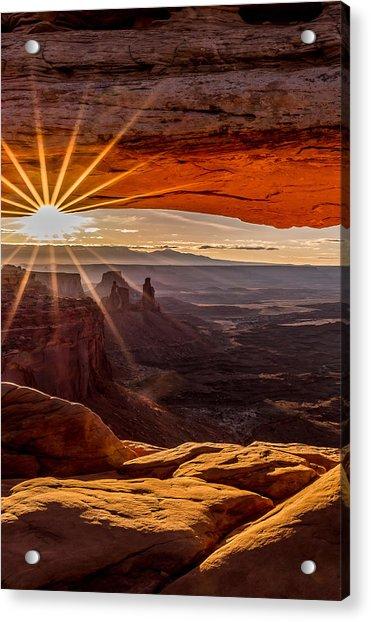 Mesa Arch Triptych Panel 2/3  Acrylic Print