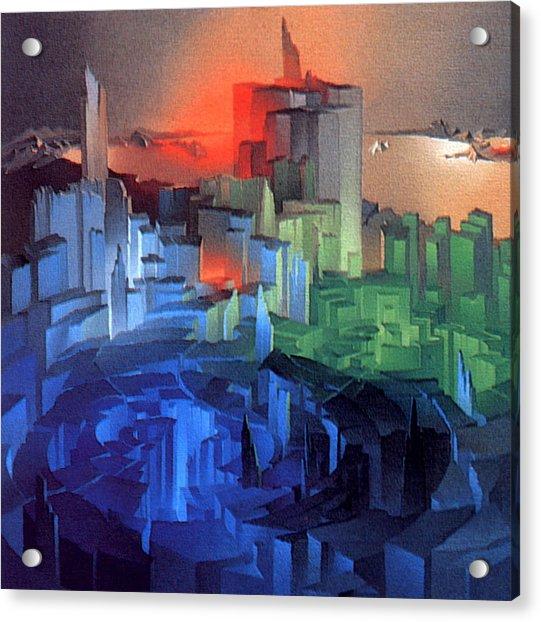 Metropolis 1975 Acrylic Print