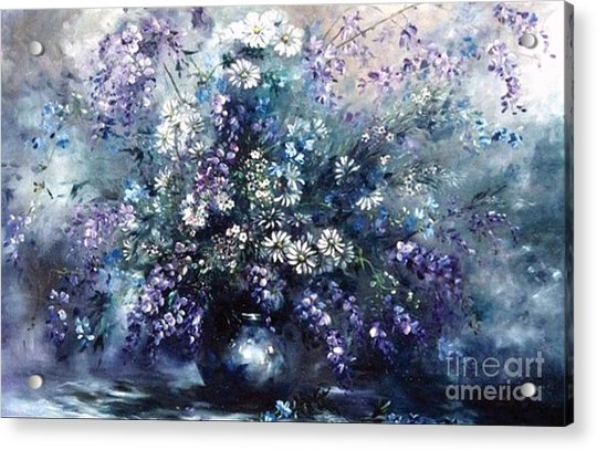 Mid Spring Blooms Acrylic Print
