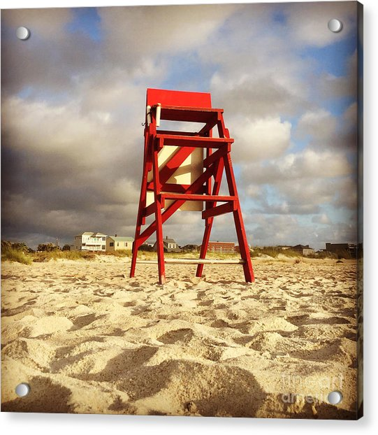 Mighty Red Acrylic Print