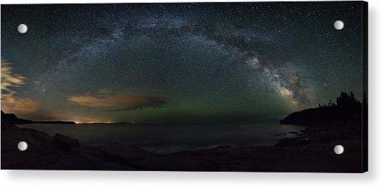Milky Way Arch Acrylic Print