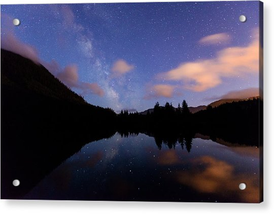 Milky Way At Snoqualmie Pass Acrylic Print