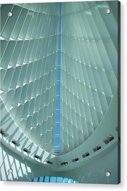 Milwaukee Art Museum Interior Acrylic Print