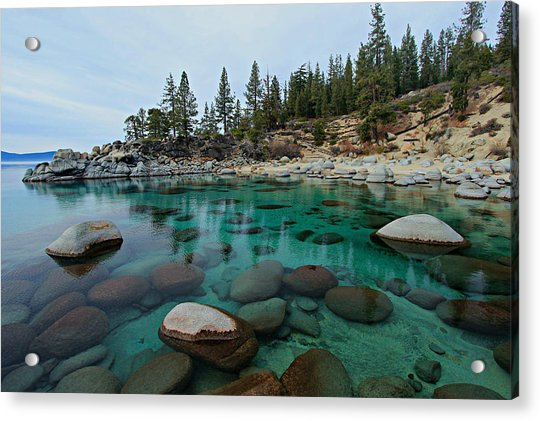 Mind Blowing Clarity Acrylic Print