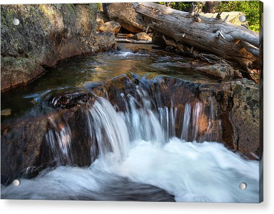 Mini-fall At Eagle Falls Acrylic Print