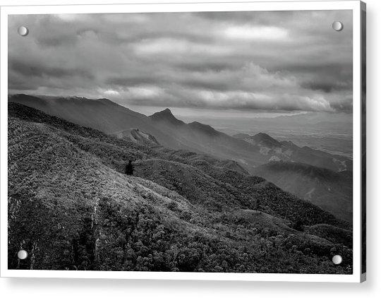 Mirante-pico Do Itapeva-campos Do Jordao-sp Acrylic Print