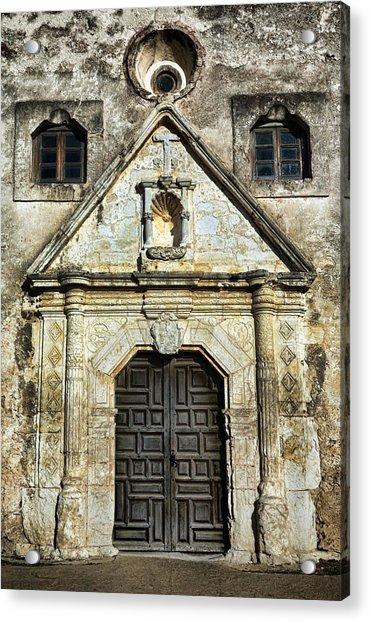 Mission Concepcion Entrance Acrylic Print