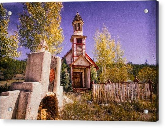 Mission Acrylic Print