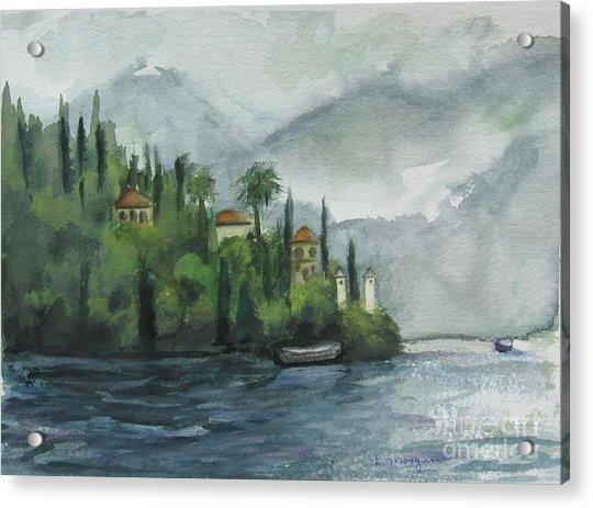 Misty Island Acrylic Print