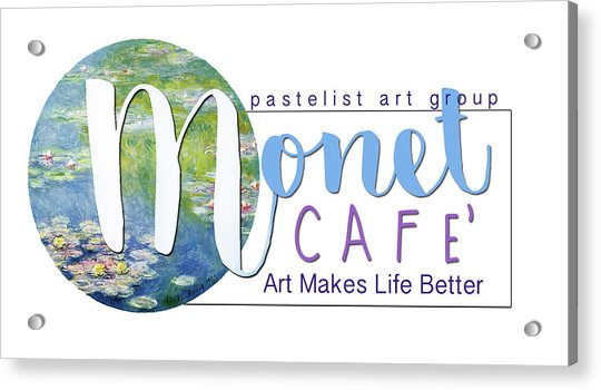 Monet Cafe' Products Acrylic Print