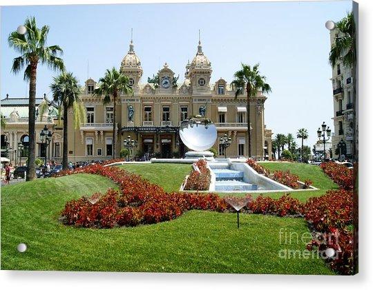 Monte Carlo Casino Acrylic Print