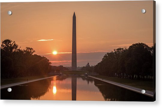 Monument Sunrise Acrylic Print by Michael Donahue