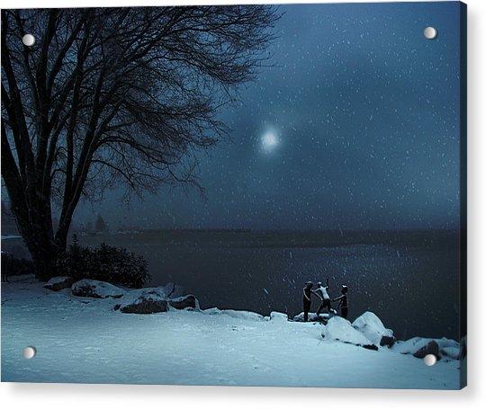 Moonlight Romp Acrylic Print