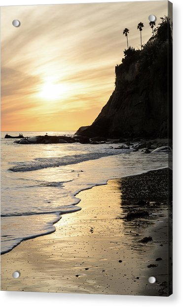 Acrylic Print featuring the photograph More Mesa Sunset West by Tim Newton