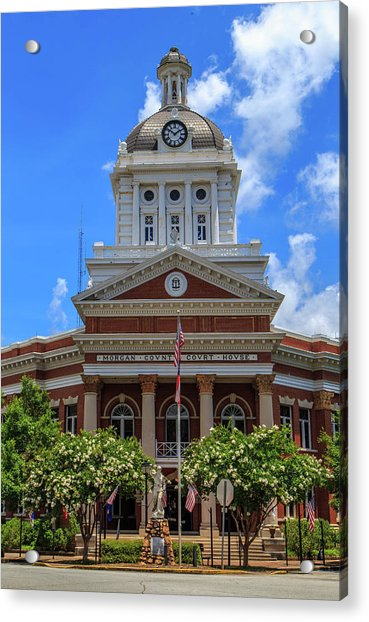 Morgan County Court House Acrylic Print