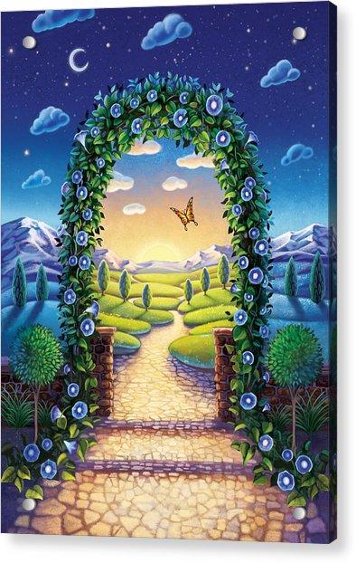 Morning Glory - Awaken To Magic Acrylic Print