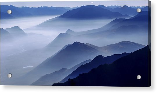 Morning Mist Acrylic Print