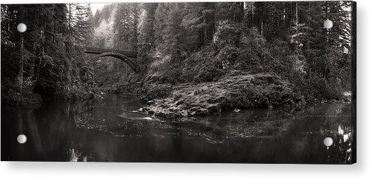 Moulton Bridge Acrylic Print