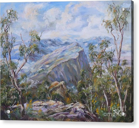 Mount Abrupt Grampians Victoria Acrylic Print