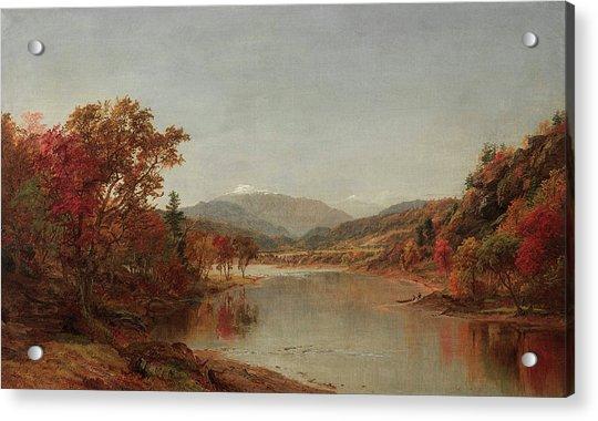 Mount Washington, New Hampshire Acrylic Print