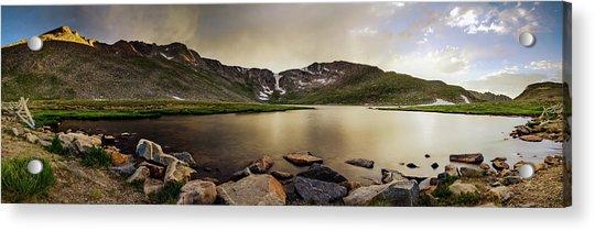 Mt. Evans Summit Lake Acrylic Print