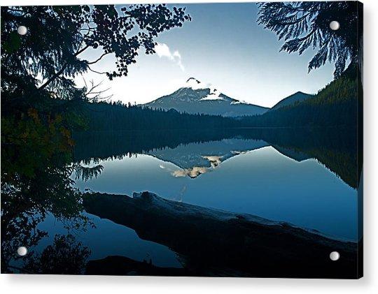 Mt. Hood Dawn Reflection Acrylic Print
