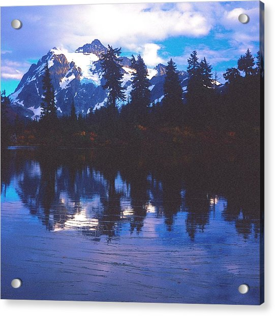 Mt. Shuksan - Picture Lake Acrylic Print