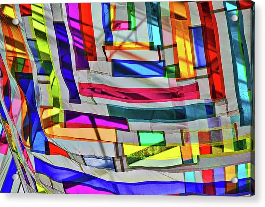 Museum Atrium Art Abstract Acrylic Print