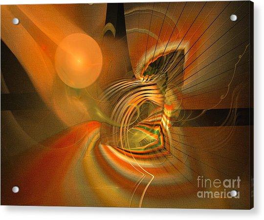 Mutual Respect - Abstract Art Acrylic Print