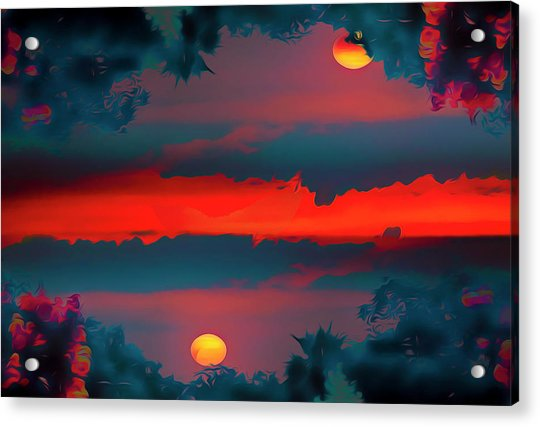 My First Sunset- Acrylic Print