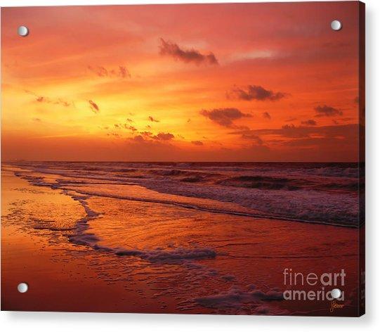 Myrtle Beach Sunrise II Acrylic Print