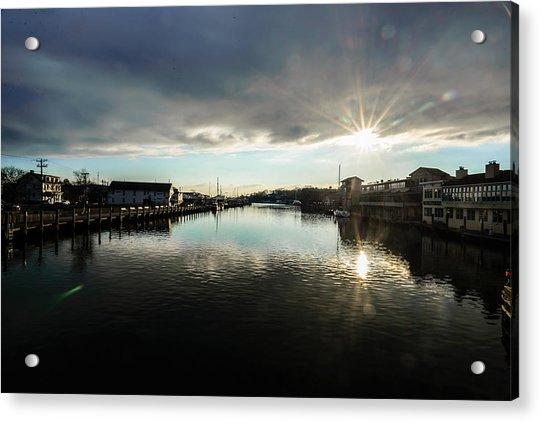 Mystic River Acrylic Print