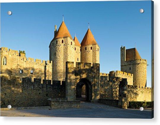 Narbonne Gate Carcasonne Acrylic Print
