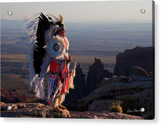 Navajo Sunrise Acrylic Print