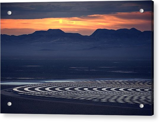 Nay For Fossil Fuel. Yea For Renewable Energy Acrylic Print